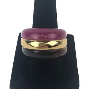 Trina Turk Dome Resin Mulholland Mod Ring